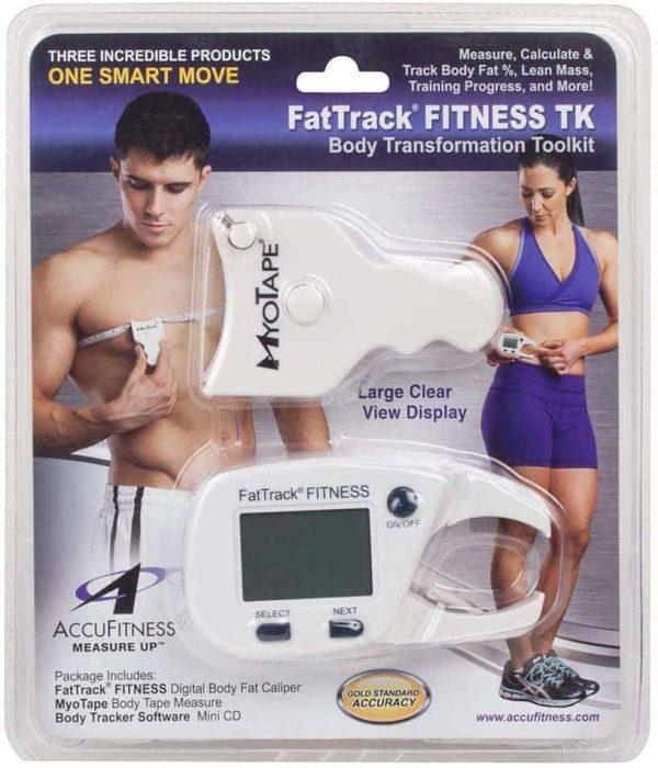 AccuFitness FatTrack Gold Digital Body Fat Caliper