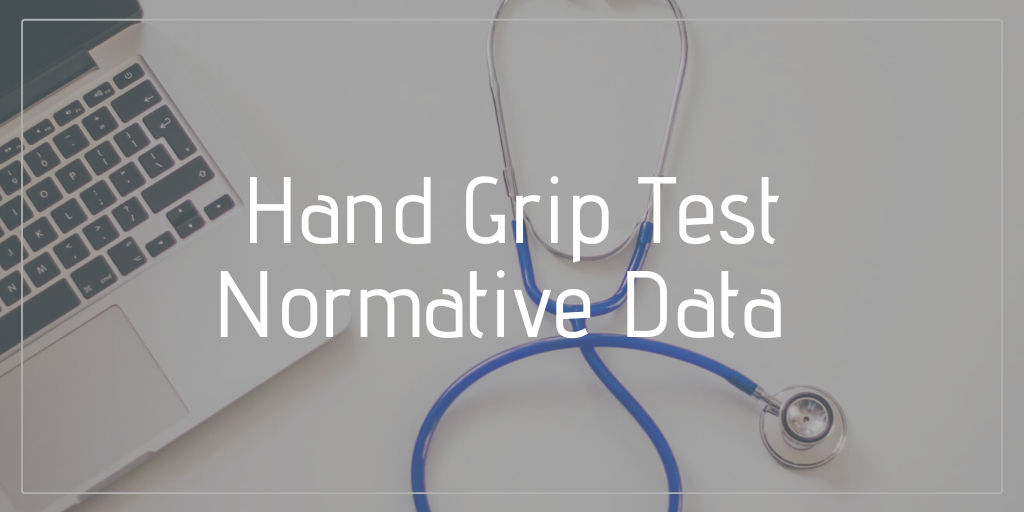 hand grip test normative data