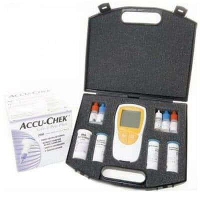 Roche Accutrend Plus Complete Kit