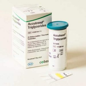 Roche Accutrend Triglyceride Strips