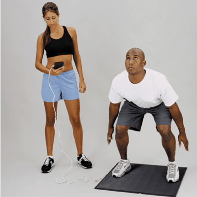 Just Jump Mat Plyometric Jump Height and Timing System