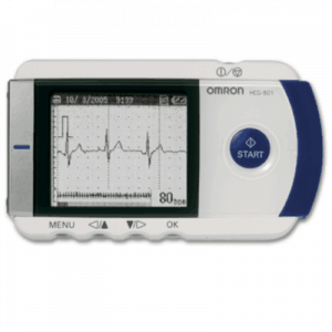Omron HCG 801 Portable ECG Monitor with Software