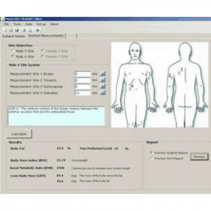 Harpenden Body Fat Analysis Software