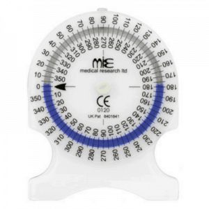 Clinical Goniometer with inclinometer technology
