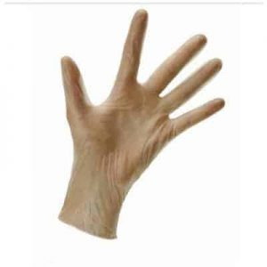 Sterile Powder Free Vinyl Gloves - 50 Per Box