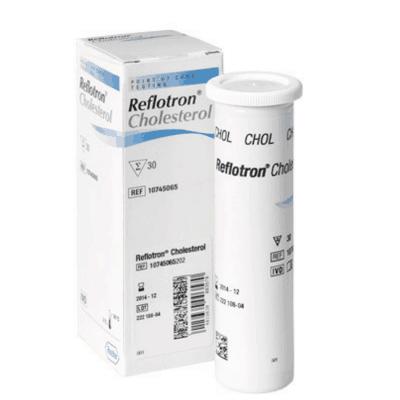 Reflotron Cholesterol Strips (30 Strips)